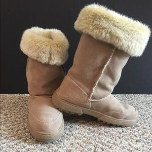 Rampage faux fur snow boots